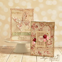 Butterfly Cards *DT Maja Design*