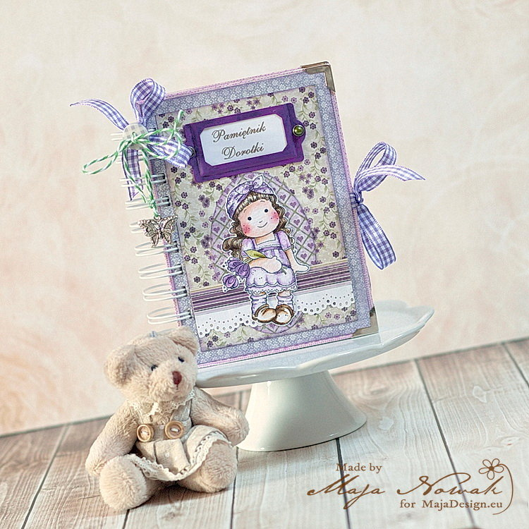 A Girl's Diary *DT Maja Design*