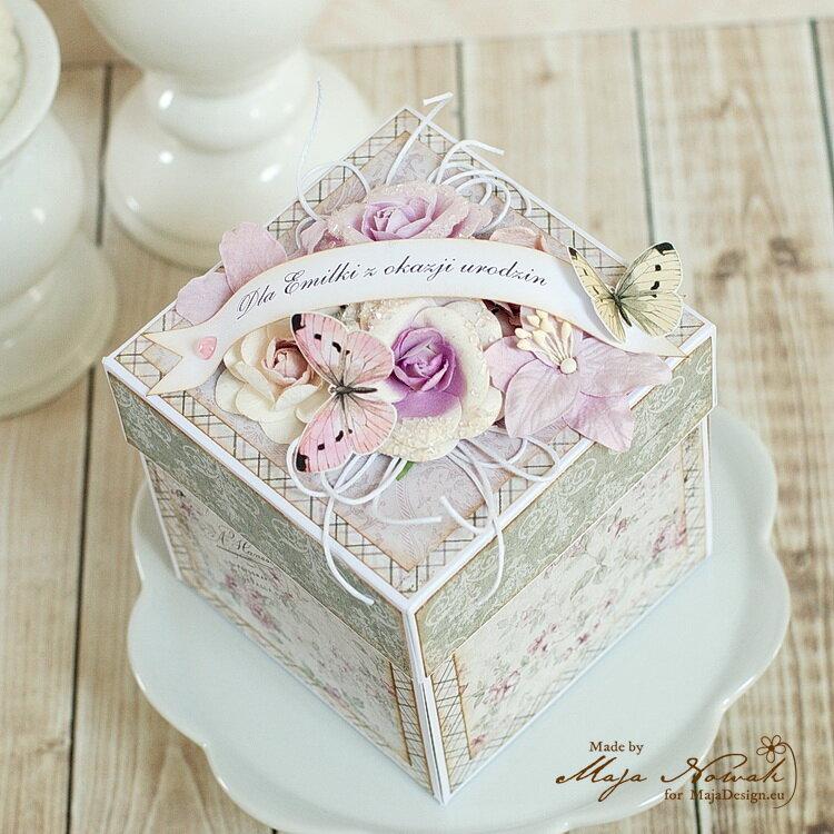Birthday Exploding Box *DT Maja Design*