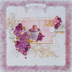 Hello Baby Girl *DT Maja Design*