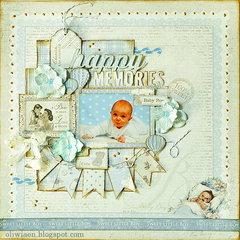 Happy Memories *DT Maja Design*
