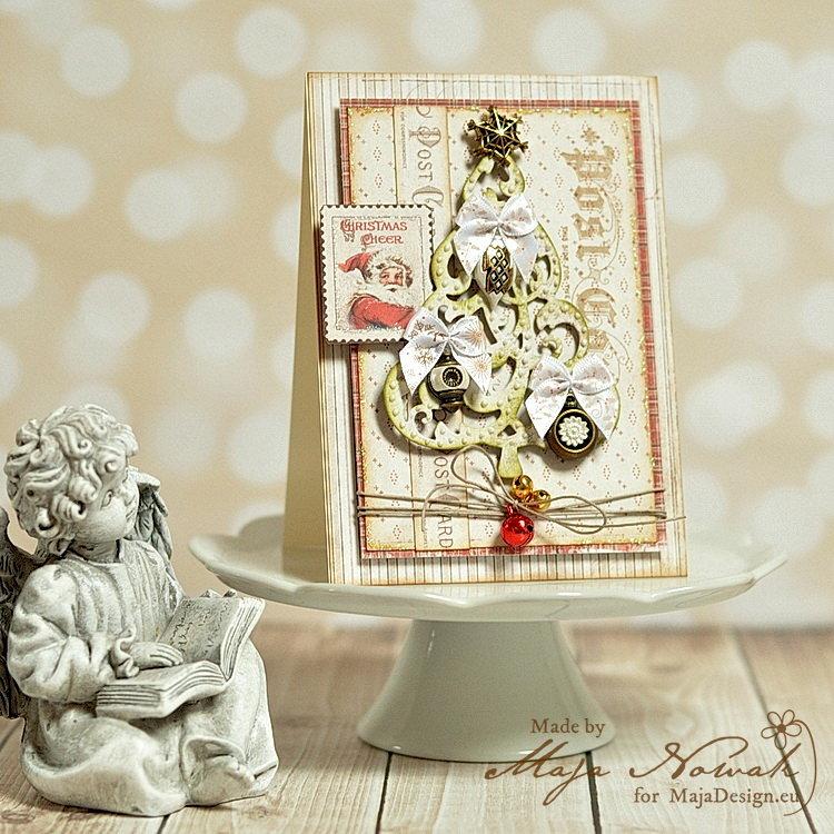 Christmas Tree Card *DT Maja Design*