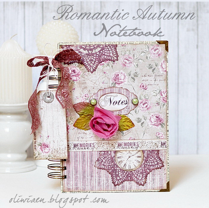 Romantic Notebook *DT Maja Design*