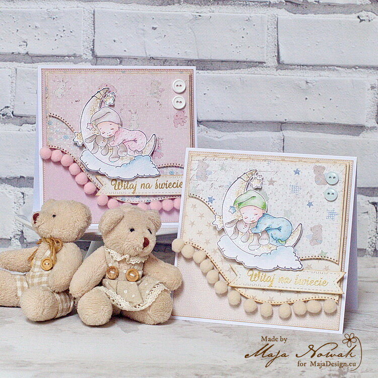 Welcome Baby Cards *DT Maja Design*