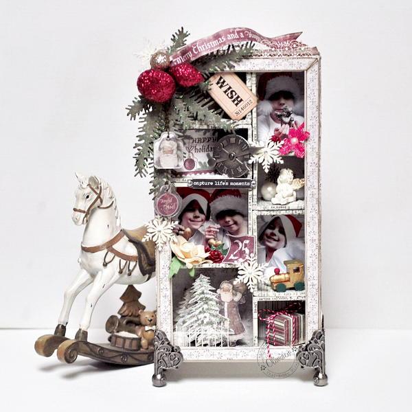 Merry Christmas Shadow Box *GD Maja Design*