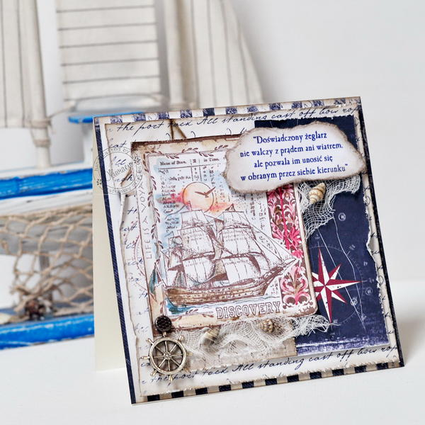 Sailor's Card *GD Maja Design*