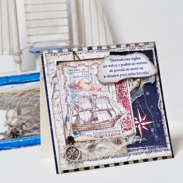 Sailor's Card *GD Maja Design*