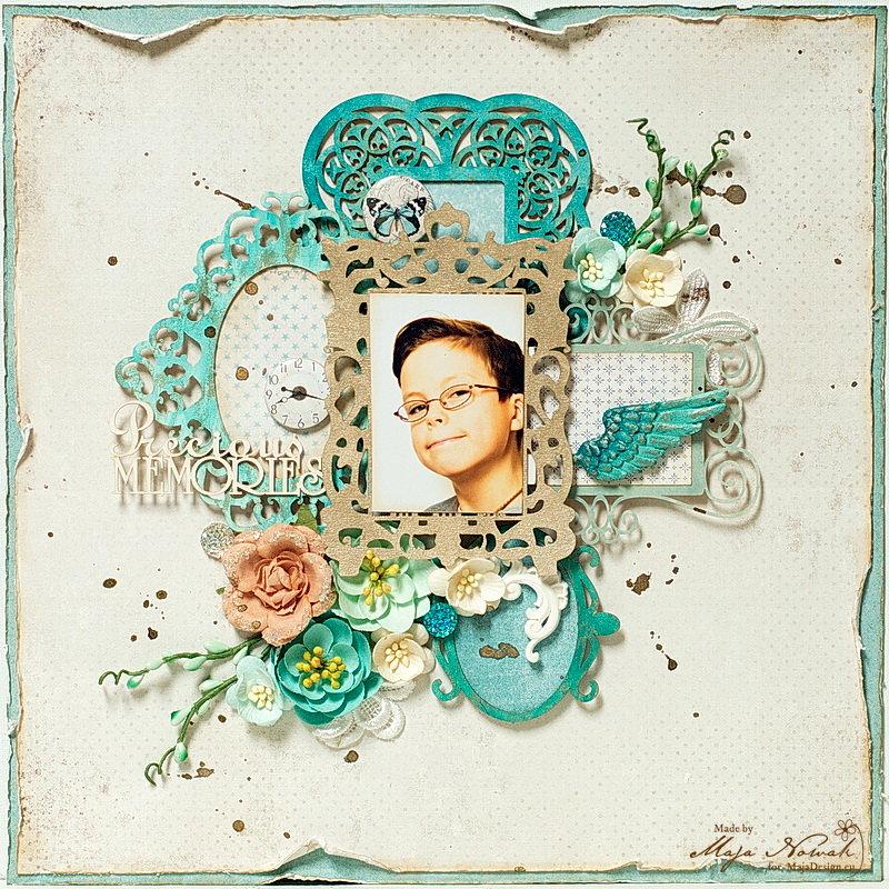 Precious Memories *GD More Than words* + *DT Maja Design*