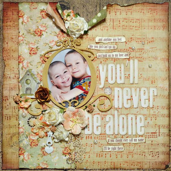 """""""You'll Never Be Alone"""" *DT Craft4You*"""