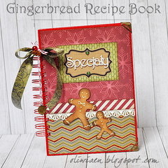 Gingerbread Recipe Book *DT Craft4You*