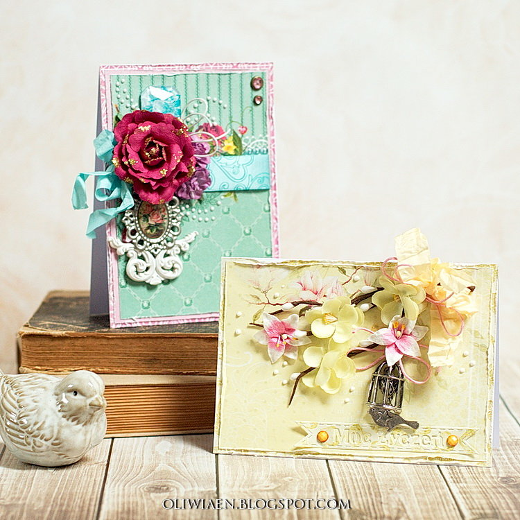 Romantic Cards *DT the ScrapBerry's*