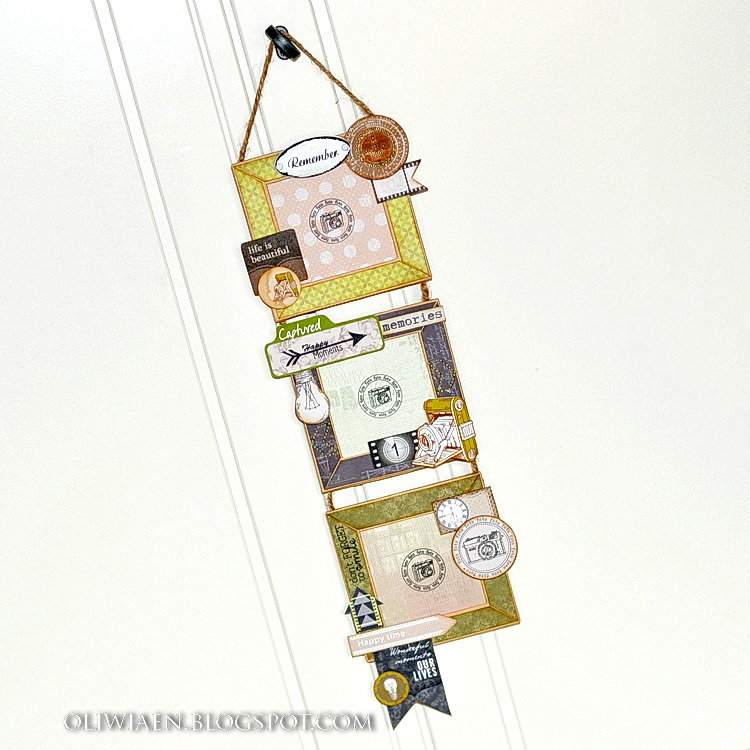 Masculine Photoframe *DT the ScrapBerry's*