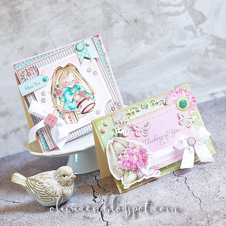 Bunny Sweet Cards *DT the ScrapBerry's*