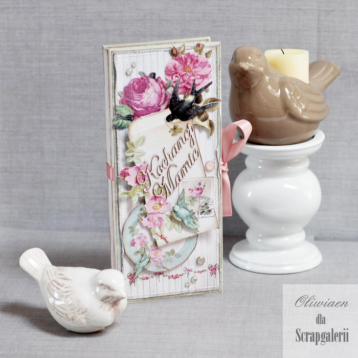 Mother's Day Chocolate Bar Holder *DT Scrapgaleria*