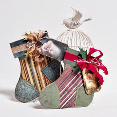 Christmas Socks *DT Craft4You*