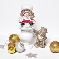 Christmas Candle *DT Craft4You*