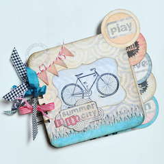 Bike Mini Album *DT The ScrapCake*