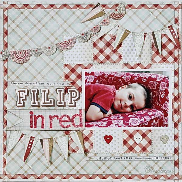 Filip In Red *The ScrapCake*