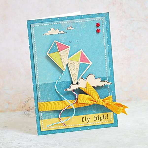 Boy Kite Card *DT The ScrapCake*