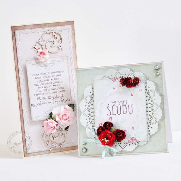 Wedding Cards *DT The ScrapCake*