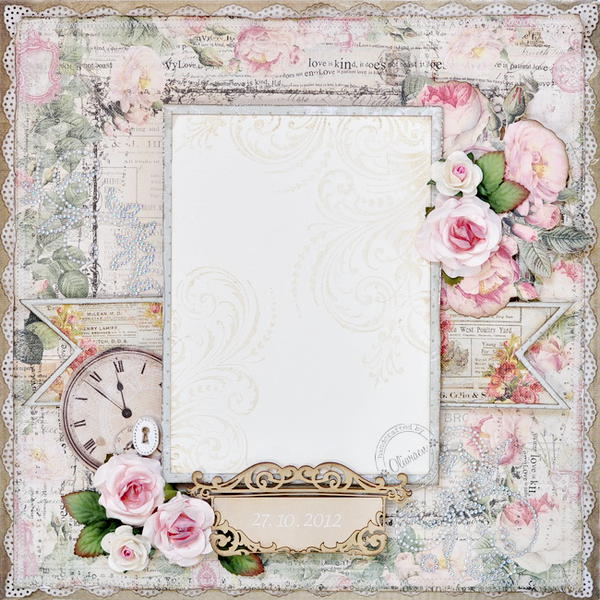 A Wedding Photo Frame