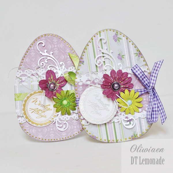 Easter Egg Cards *Lemonade*