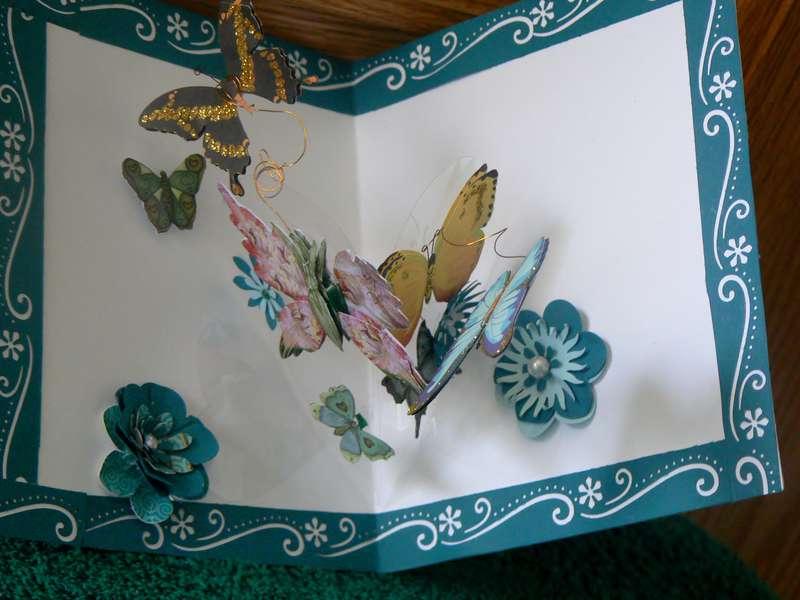 Butterfly Friends card