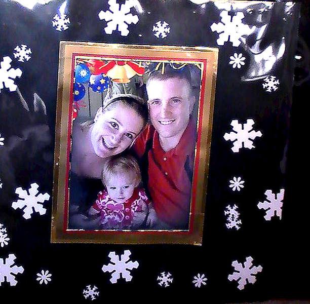 Warm Family in Winter