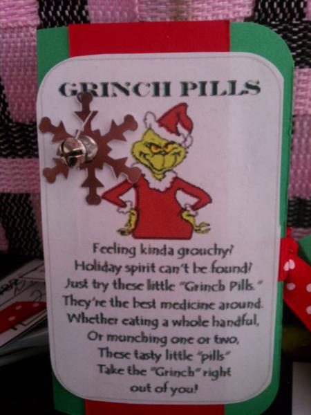 Grinch green mints