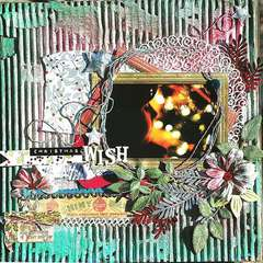 Christmas Wish ~Punky Scraps~ December Challenge