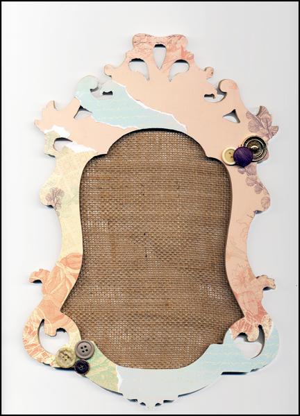 Ornate photo frame