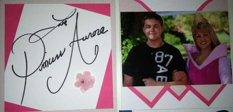 Disney Autograph Book - Aurora