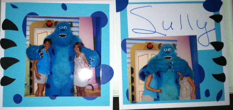 Disney Autograph Book - Monsters Inc.