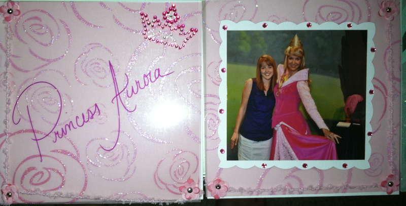 Disney Autograph Book -Aurura