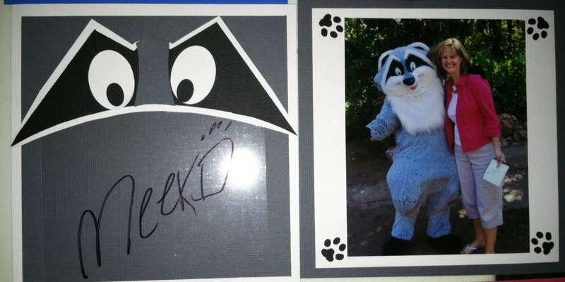 Disney Autograph Album - Meeko