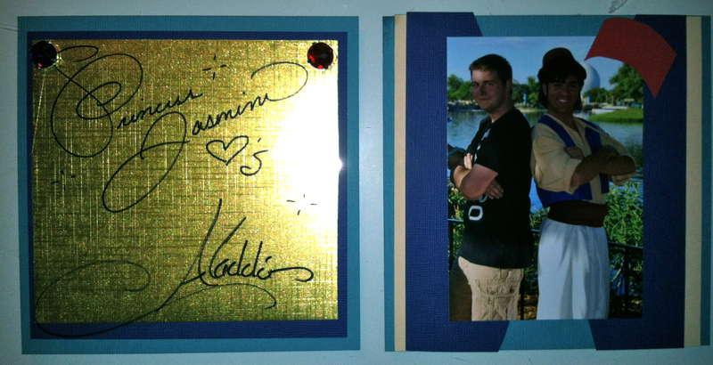 Disney Autograph Album - Aladdin