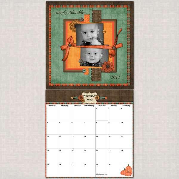 12x24 Calendar.