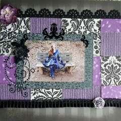 The Amazing Purple Pixie Technicolor Dream Coat