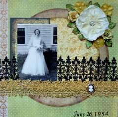 Grandma on Her Wedding Day