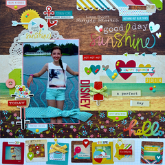 Disney Boardwalk *Simple Stories Good Day Sunshine*