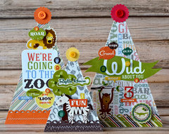 Zoo Themed Party Hat Decor *Echo Park Day at the Zoo*
