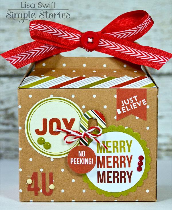 Gift Box *Simple Stories DIY Christmas*
