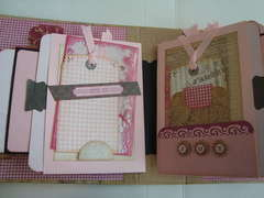 Grandma's Pink Album Pages