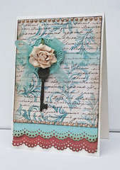 Vintage style card