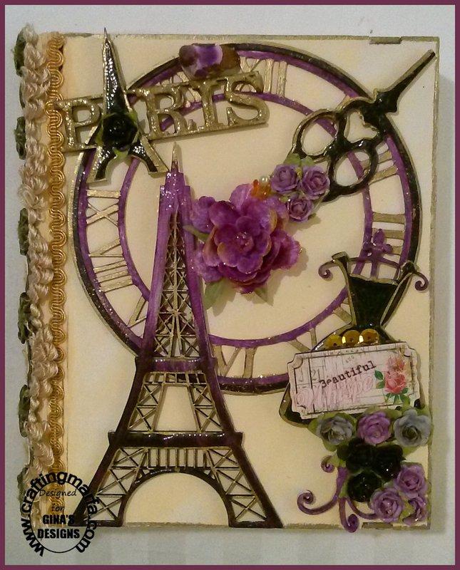 Hardboard Parisian Book Box