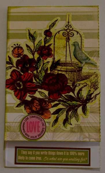 Vintage style greeing card