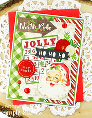 North Pole Santa
