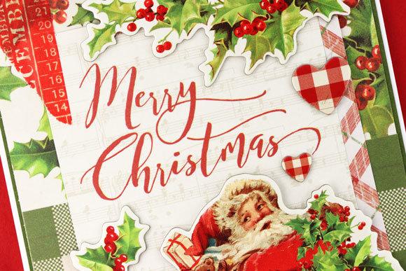 Simple Vintage Merry Christmas
