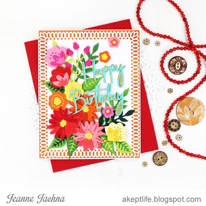 Birthday Simple Blooms