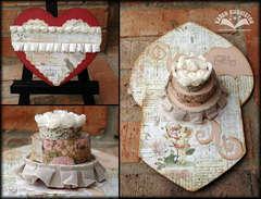 Pop-up Pretty Birthday Cake Card